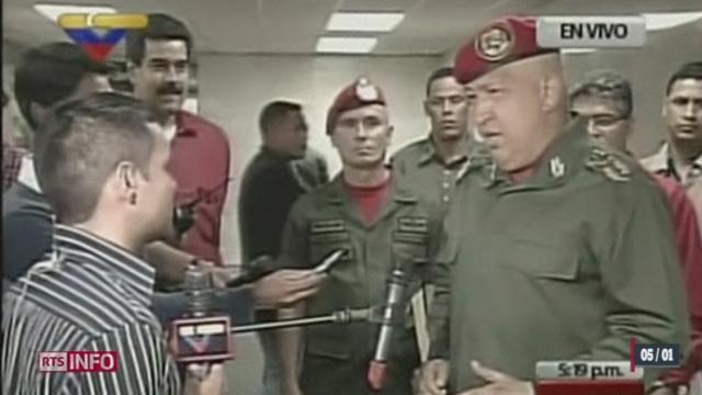 Le cancer d'Hugo Chavez prend une empleur politique