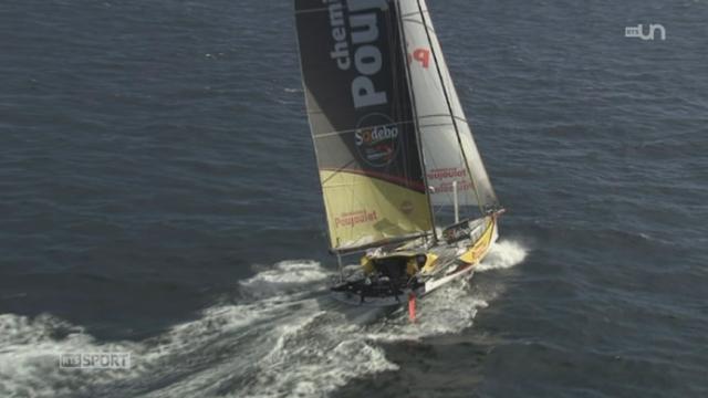 Voile / Vendée Globe: la poisse semble poursuivre Bernard Stamm qui a heurté avec son bateau un objet non identifié