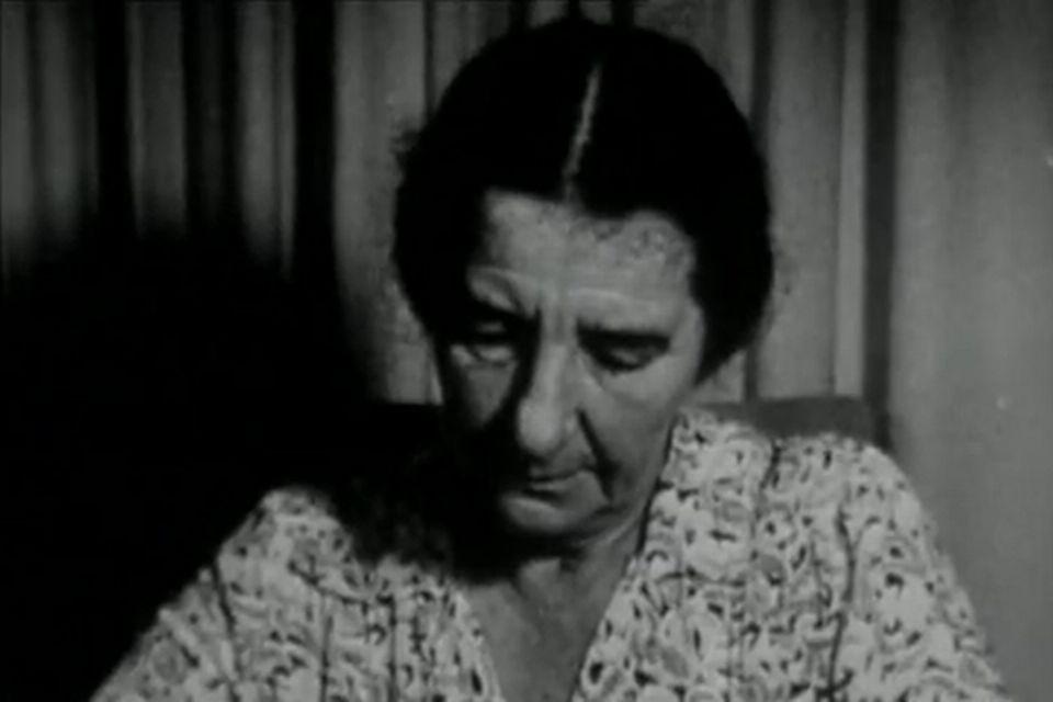 Golda Meir. [INA]