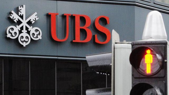 Le logo de l'UBS. [Steffen Schmidt]