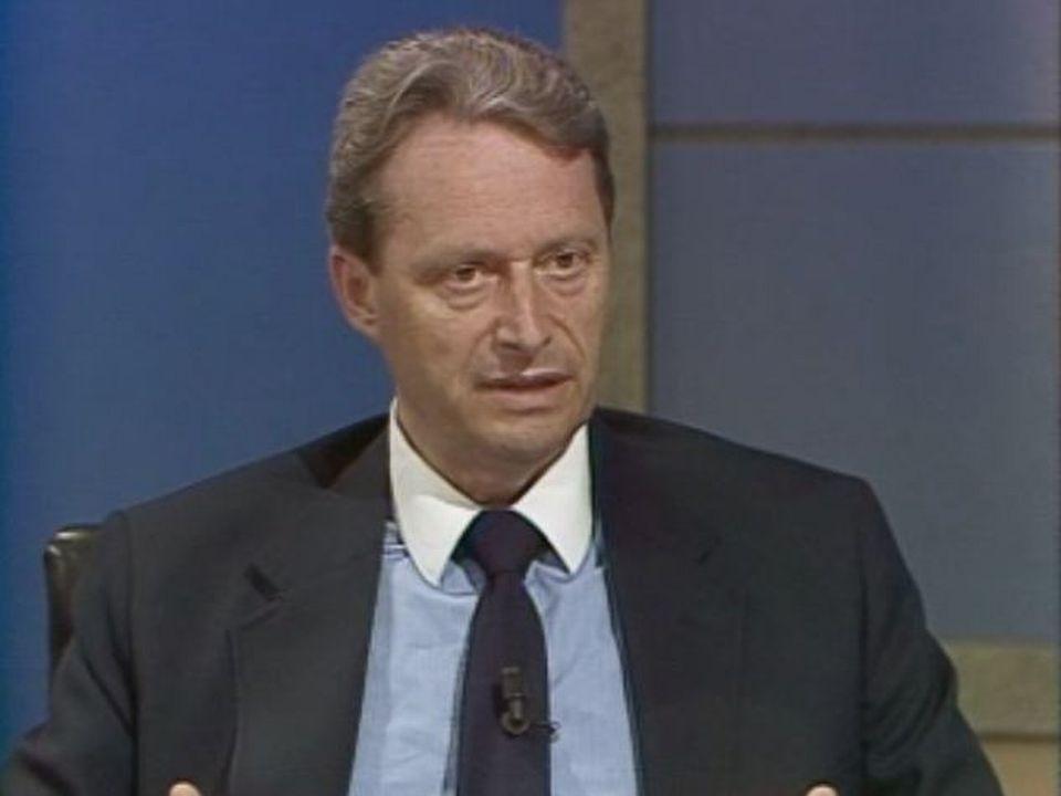 Jean Cavadini en 1987. [RTS]