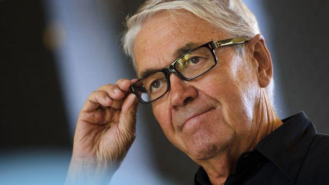 Le fondateur du Montreux Jazz Festival (MJF), Claude Nobs. [Fabrice Coffrini - AFP]