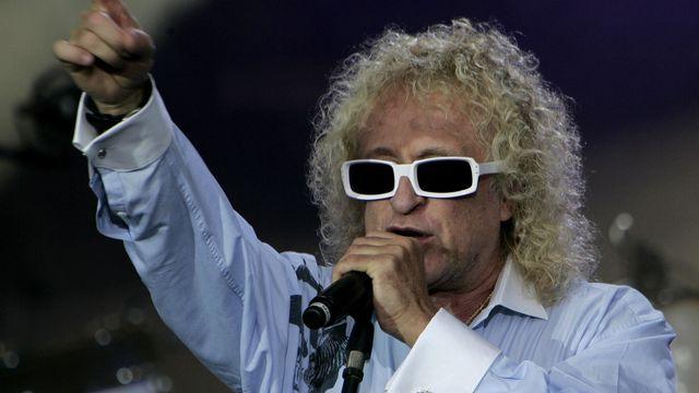 Michel Polnareff, en concert à Paris en 2007. [Michel Euler. - AFP]