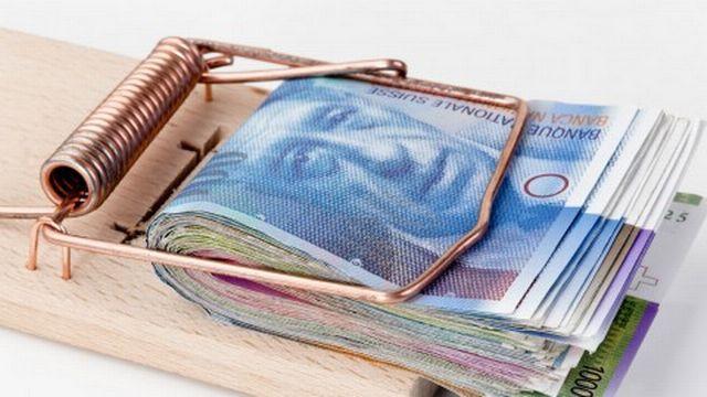 L'argent, le nerf de la guerre. [La Suisse a connu une déflation en 2012.]