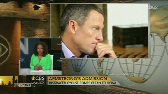 Cyclisme/Affaire Lance Armstrong: l'ex septuple vainqueur du Tour de France aurait déclaré s'être dopé dans une interview accordée à Oprah Winfrey