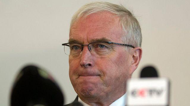 La situation du président de l'UCI Pat McQuaid semble devenir de plus en plus précaire. [Salvatore Di Nolfi - Keystone]