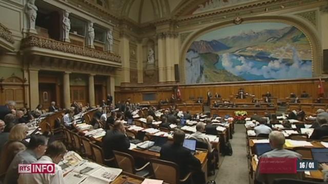 L'UDC zurichoise s'oppose à Christoph Blocher en soutenant l'initiative Minder