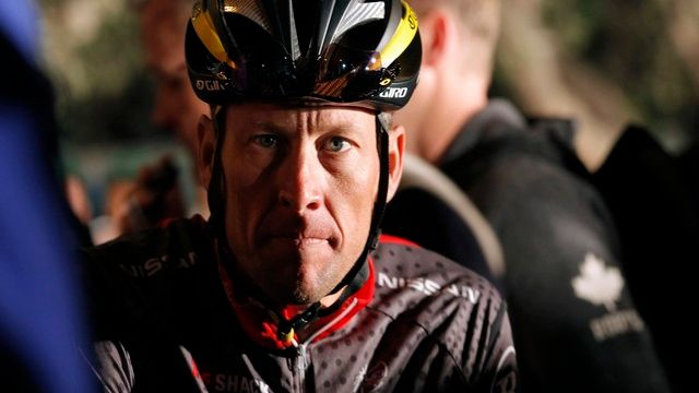 Lance Armstrong.  [Mike Hutchings/Reuters]