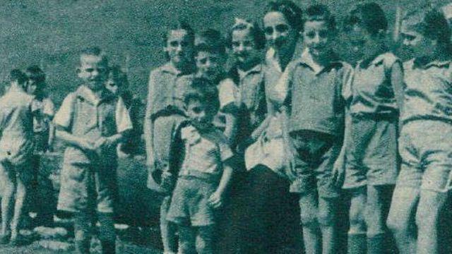 Colonie de vacances à Lutry1945 [Radio-Genève]