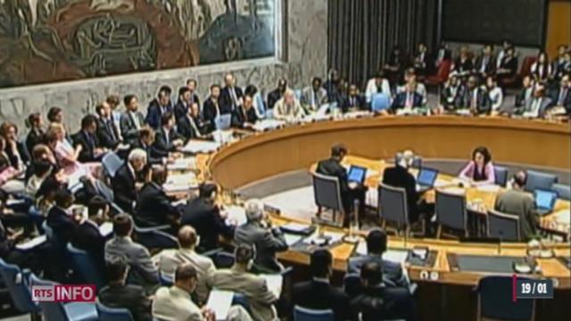 ONU: 57 pays ont signé la pétition suisse réclamant la saisie de la Cour pénale internationale pour les crimes commis en Syrie