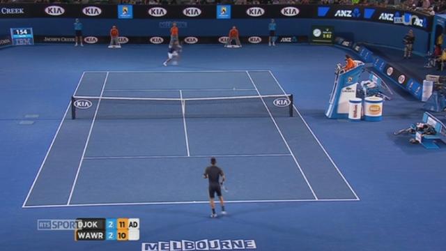 Tennis / Open d'Australie : Wawrinka s'incline face à Djokovic après 5 heures de match (1-6; 7-5; 6-4; 6-7; 12-10) + itw. Stanislals Wawrinka