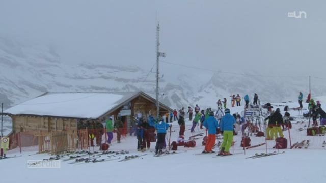 Le mag de la rédaction: reportage sur la Coupe d'Europe de ski alpin de Wengen