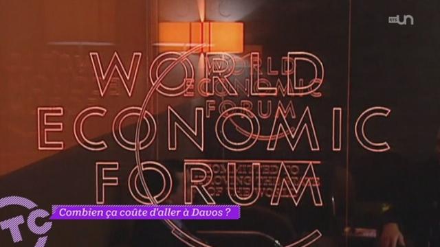 La Question : combien ça coûte d'aller à Davos ?