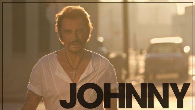 "Pochette de l'album ""L'attente"" de Johnny Hallyday. [Warner]"