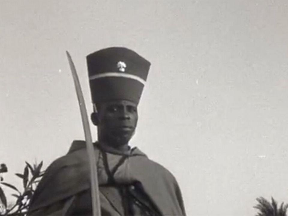 A Dakar l'indépendance du Mali. [INA]