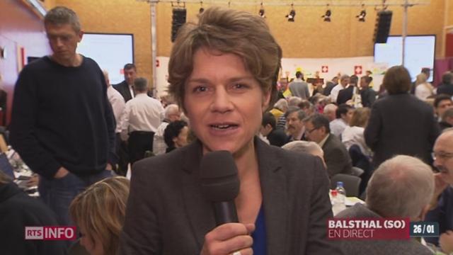 Un second débat entre Thomas Minder et Christophe Blocher aura lieu lors de l'assemblée des délégués de l'UDC ce samedi