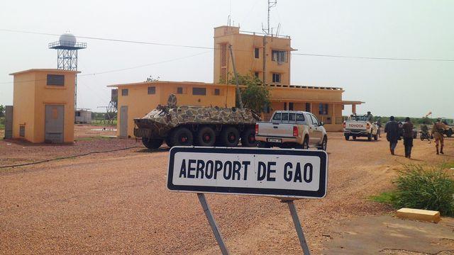 L'aéroport de Gao, position stratégique, est désormais sous contrôle des forces franco-maliennes. [Romaric Ollo Hien - AFP]