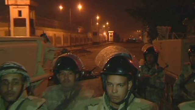 Nuit de violences à Port Saïd, en Egypte