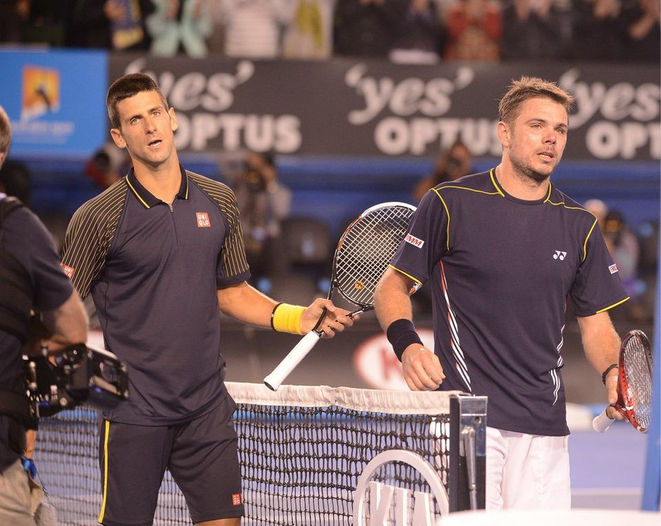 Le match entre Djokovic et Wawrinka a marqué les esprits. [Keystone]