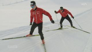Biathlon: les frères Cuenot sont les grands espoir romands de la discipline
