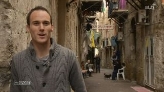 Football: portrait de l'international suisse Steve Von Bergen qui évolue actuellement à Palerme