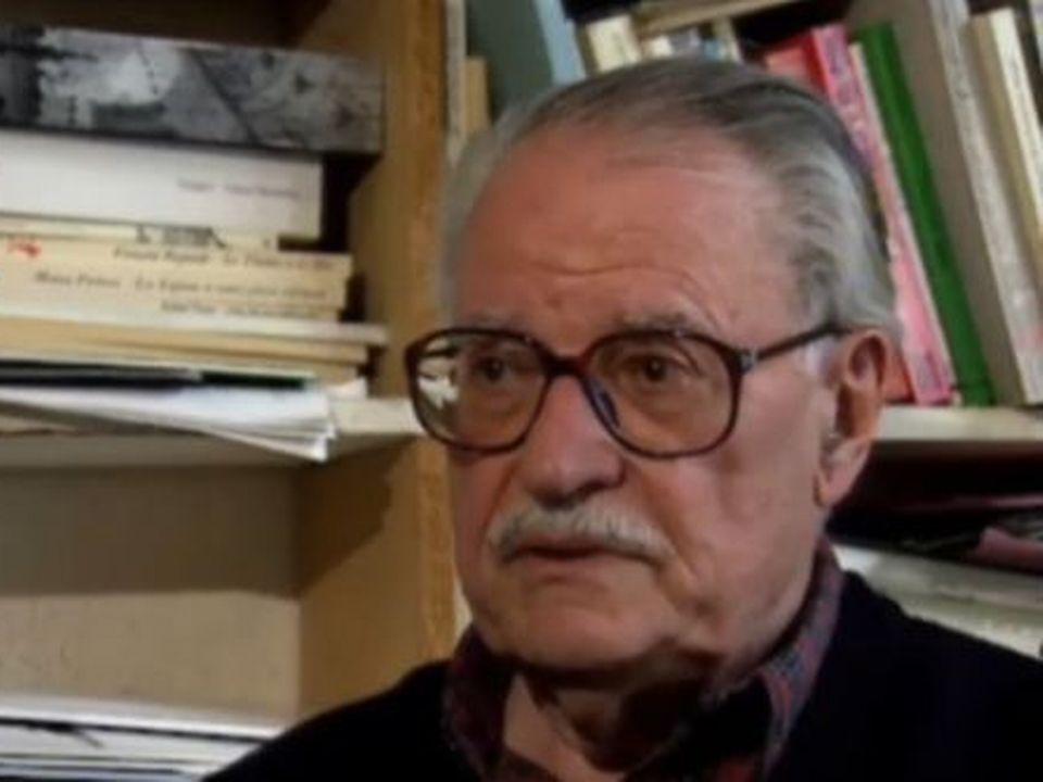 Maurice Nadeau en 1990. [RTS]
