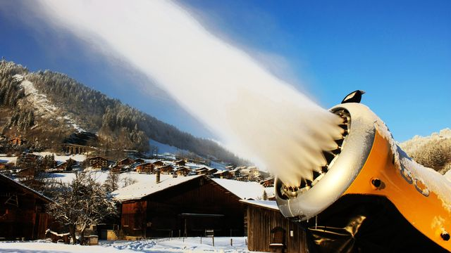 Canon neige [© Brad Pict - Fotolia]