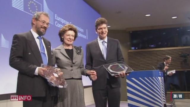 Le projet Human Brain Project de l'EPFL a été plébiscité par l'Union européenne