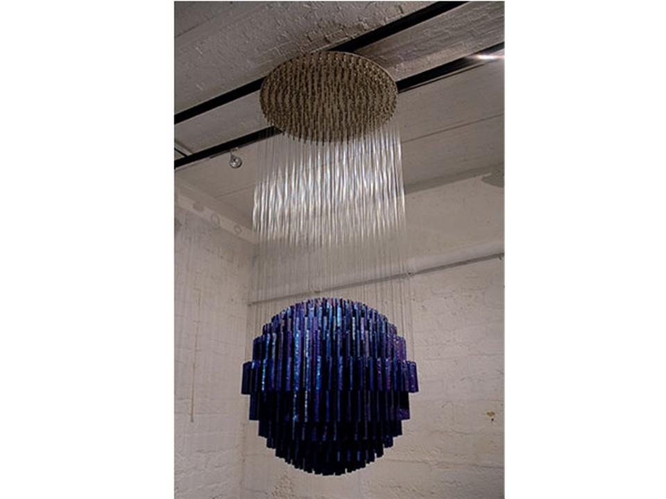 Une pièce de l'artiste Etienne Krähenbühl qui expose à la Galerie C de Neuchâtel. [© Galerie C]
