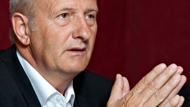 Laurent Haymoz était à la tête de FR-Gottéron depuis juillet 2010 [DOMINIC FAVRE   - Keystone]