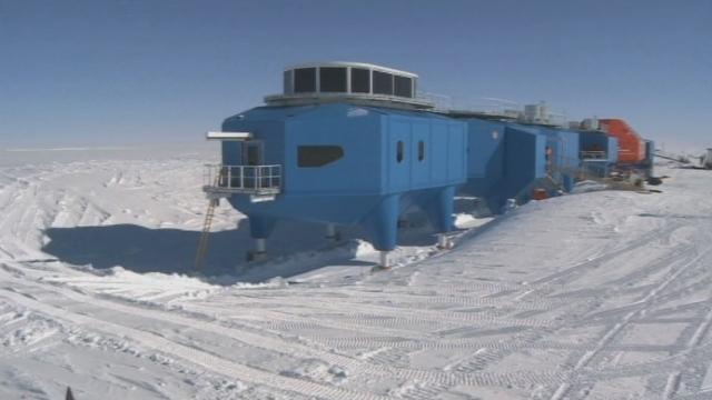 Une nouvelle station de recherche en Antarctique