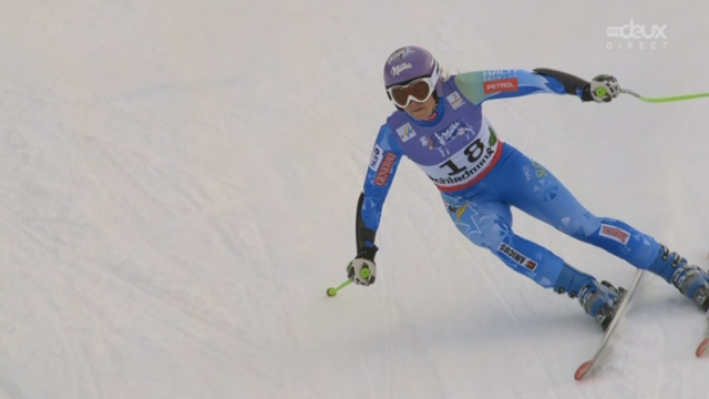 Super G dames: Maze signe une belle performance