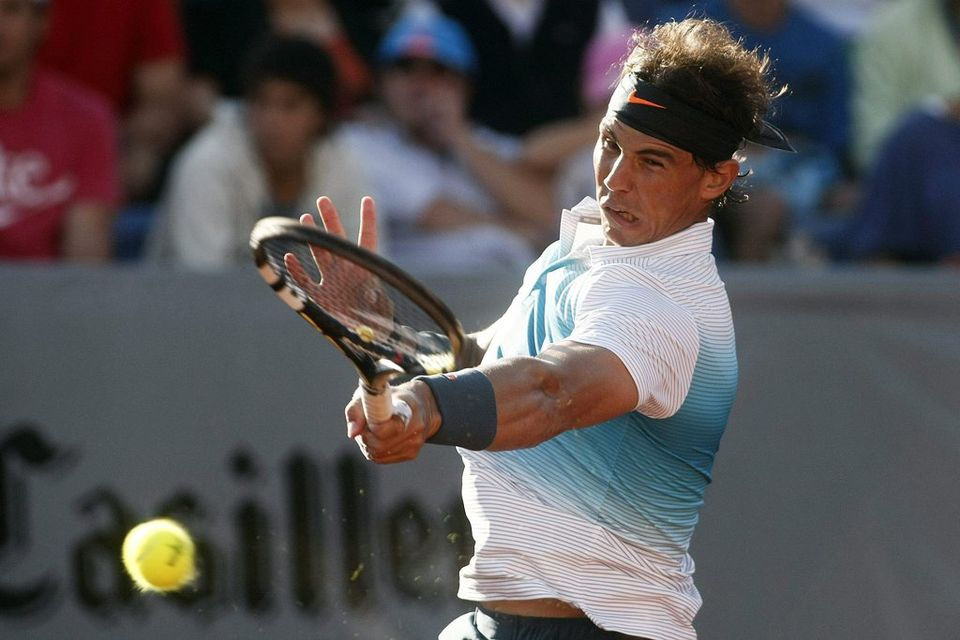 Rafael Nadal retrouve la compétition, des mois après sa sortie au 2e tour de Wimbledon. [MARIO RUIZ - Keystone]