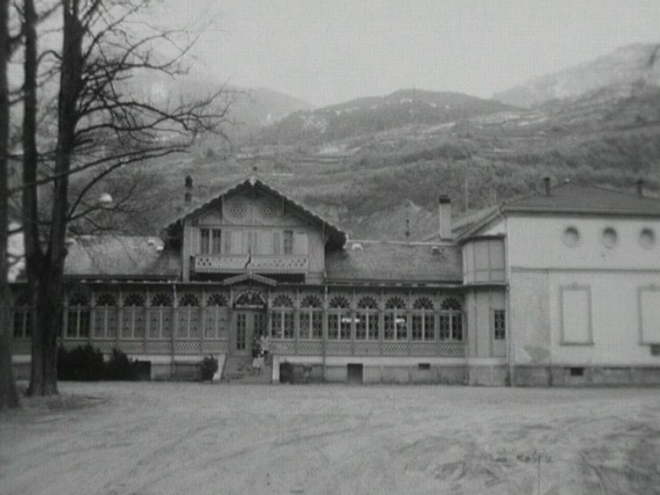 Bains et casino de Saxon