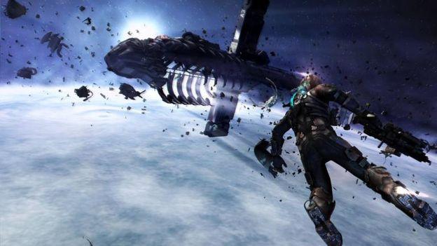 Clic - Dead Space 3: attention derrière!