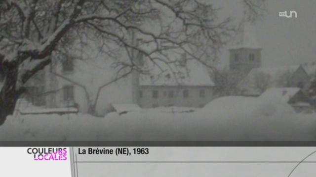 Brévine (NE): certains habitants se remémorent l'hiver 1962-1963, le plus froid de suisse