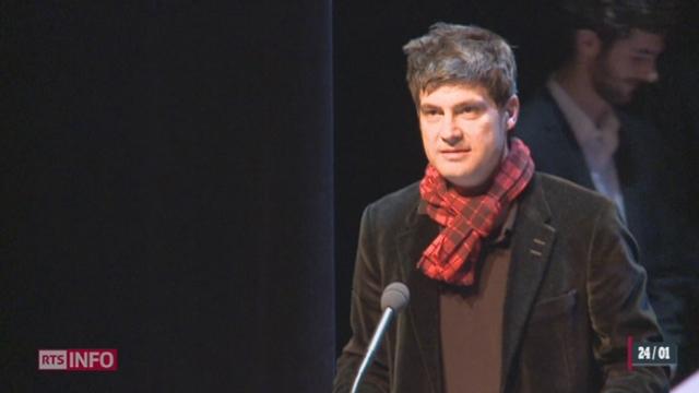 Littérature: «le Patient du Docteur Hirschfeld», du Vaudois Nicolas Verdan, est le lauréat de la quatrième édition du Roman des Romands. [RTS]