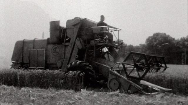 Zone agricole en 1969. [RTS]