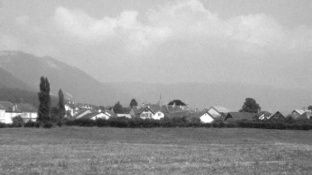 Spéculation foncière en 1969. [RTS]