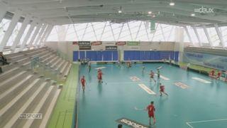 Unihockey: quatre rencontres programmées à Yverdon-les-Bains ont permis de présenter ce sport atypique au public romand