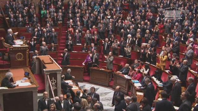 La loi sur le mariage gay adoptée à l'Assemblée en France