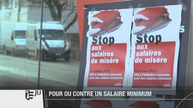 Les Jurassiens voteront le 3 mars prochain pour des salaires minimaux