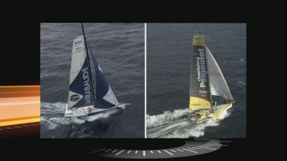 Les navigateurs Bernard Stamm et Dominique Wavre seront les invités de Sport dimanche dès 18h25 sur RTS Un