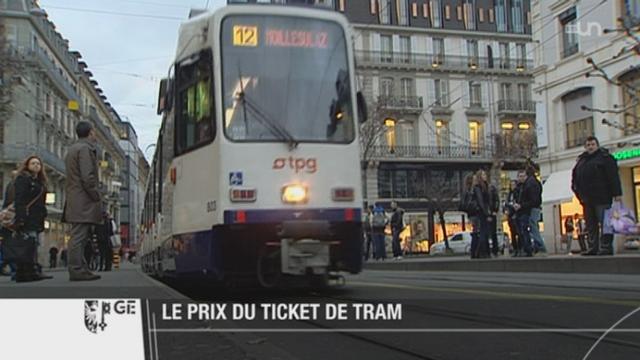 Les Genevois devront s'exprimer sur le prix des transports publics le 3 mars prochain