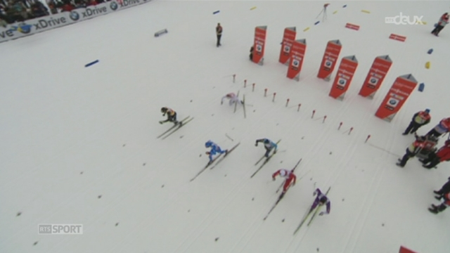 Ski de fond / Sprint de Davos: Dario Cologna termine deuxième