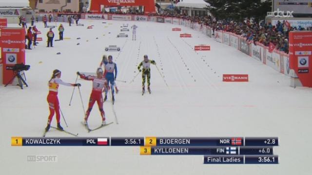 Ski de fond / Sprint de Davos: la Polonaise Justyna Kowalczyk conserve la première place au classement général de la Coupe du monde