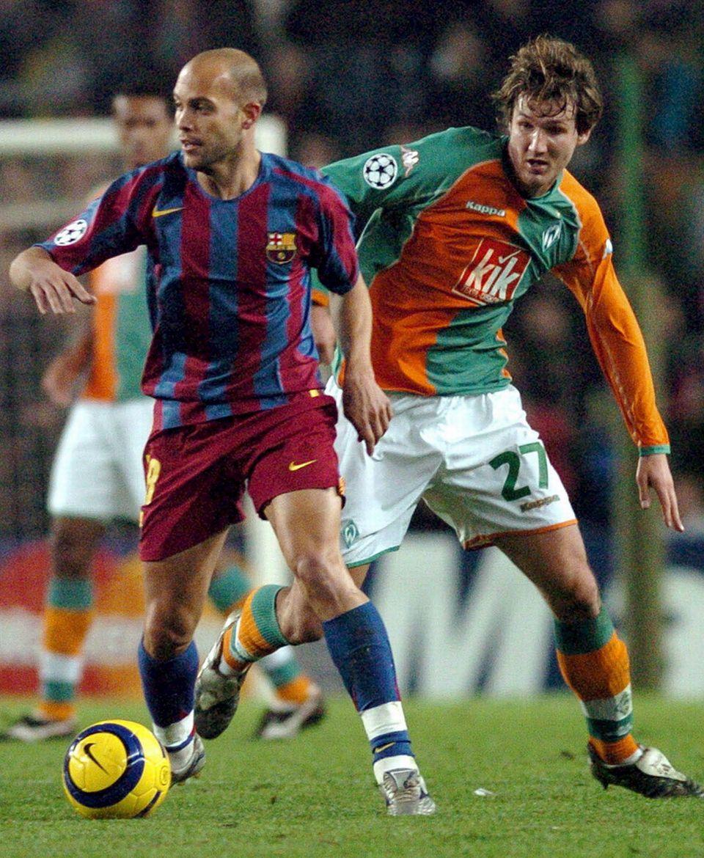 Gabri a passé sept saisons au sein de l'équipe première du FC Barcelone. [Fiche de Gabri - Keystone]