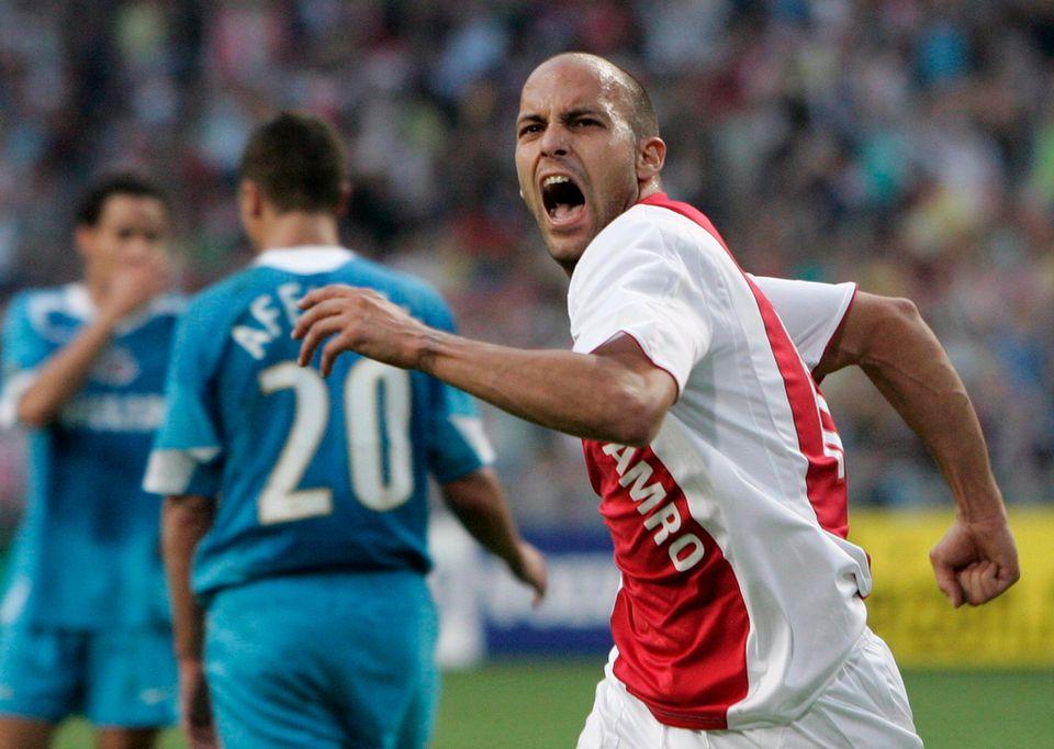 Gabri a porté le maillot de l'Ajax Amsterdam, qui a tant inspiré Johan Cruyff. [MARCEL ANTONISSE - Keystone]