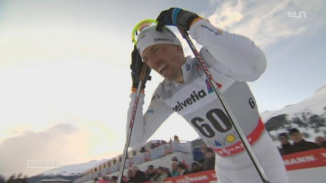 Ski nordique / 15 km homme à Davos: le Suédois Johan Olsson s'impose devant le Suisse Dario Cologna