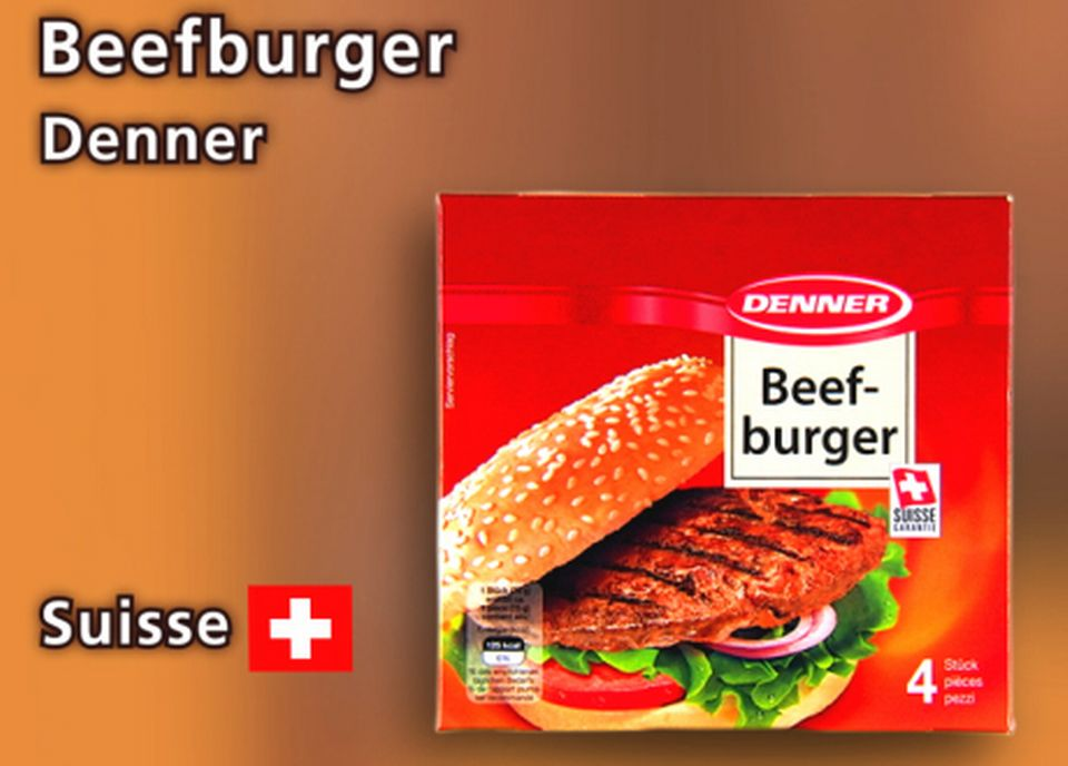 Beefburger de Denner. [Daniel Bron - RTS]